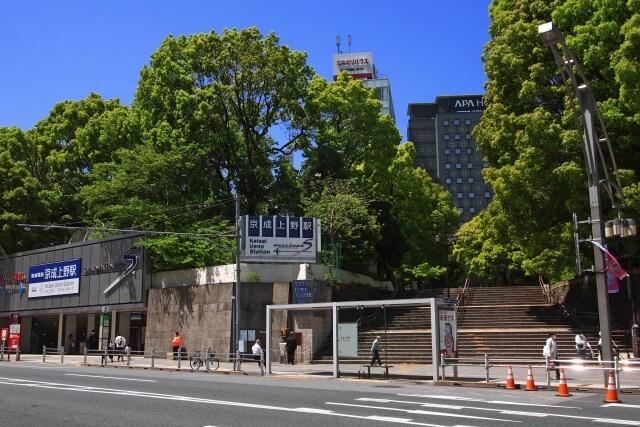 上野のイメージ